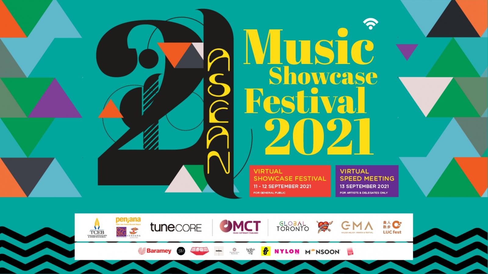 Lễ hội âm nhạc Monsoon tham gia dự án ASEAN Music Showcase 2021