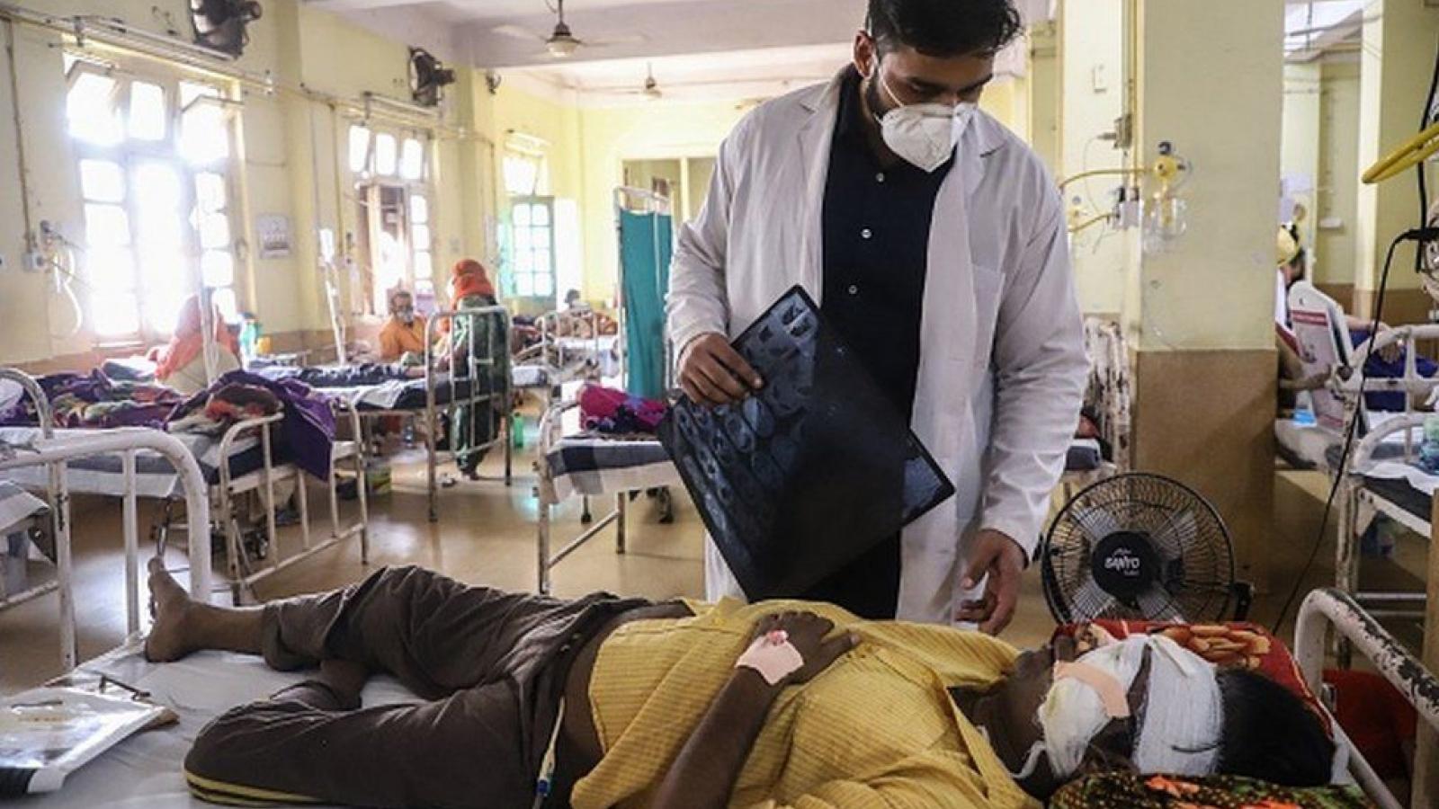 Ấn Độ ghi nhận hơn 4.000 ca tử vong do bệnh nấm đen