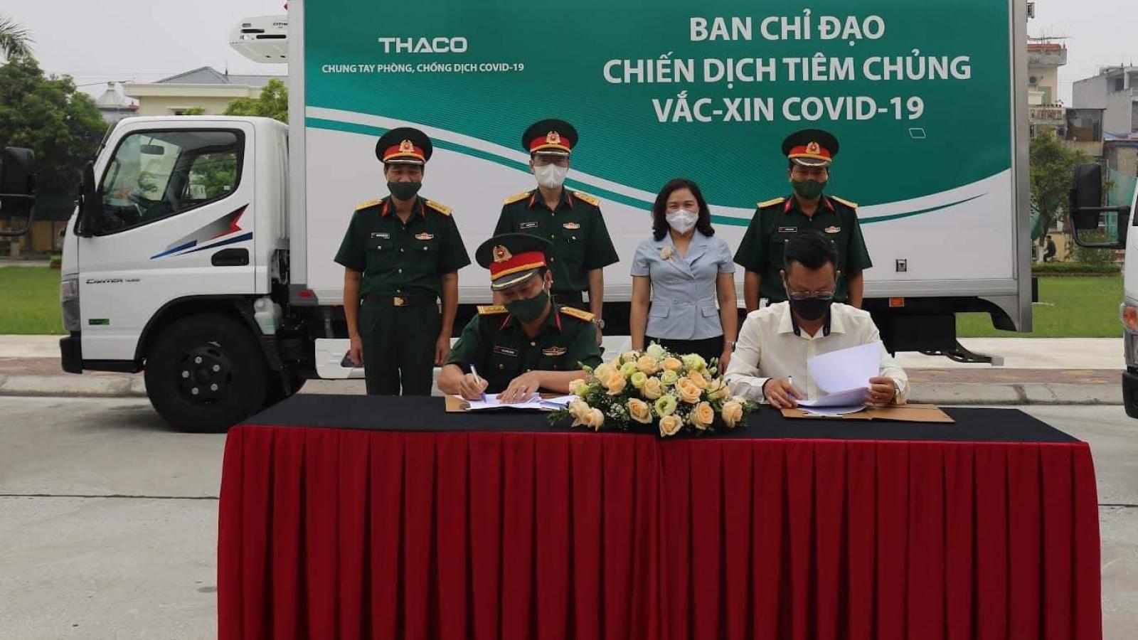 Sử dụng 63 xe chuyên dụng vận chuyển vaccine COVID-19 trong Chiến dịch tiêm chủng
