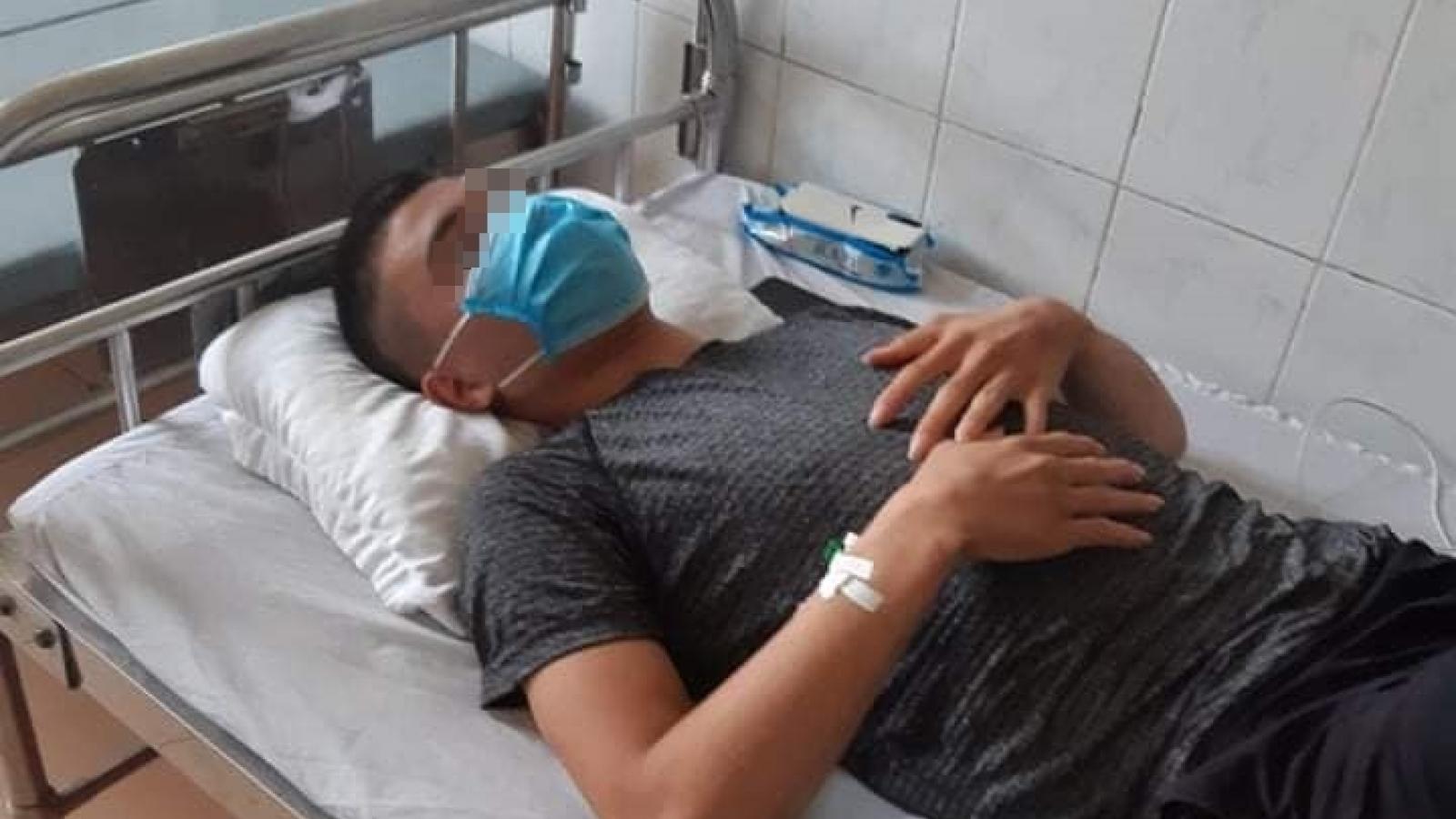 Bệnh nhân bị tím tái toàn thân, ngừng tuần hoàn do ăn cào cào