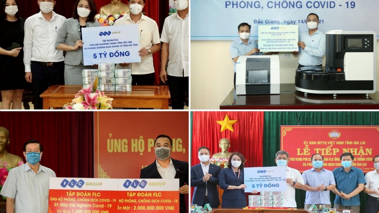 FLC tặng xe cứu thương cho Sầm Sơn, sau khi chi viện hơn 150 tỷ chống dịch, thiên tai