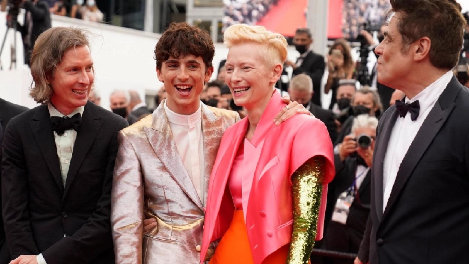 Phim tôn vinh ngành báo của Timothée Chalamet nhận tràng vỗ tay 9 phút tại Cannes 2021
