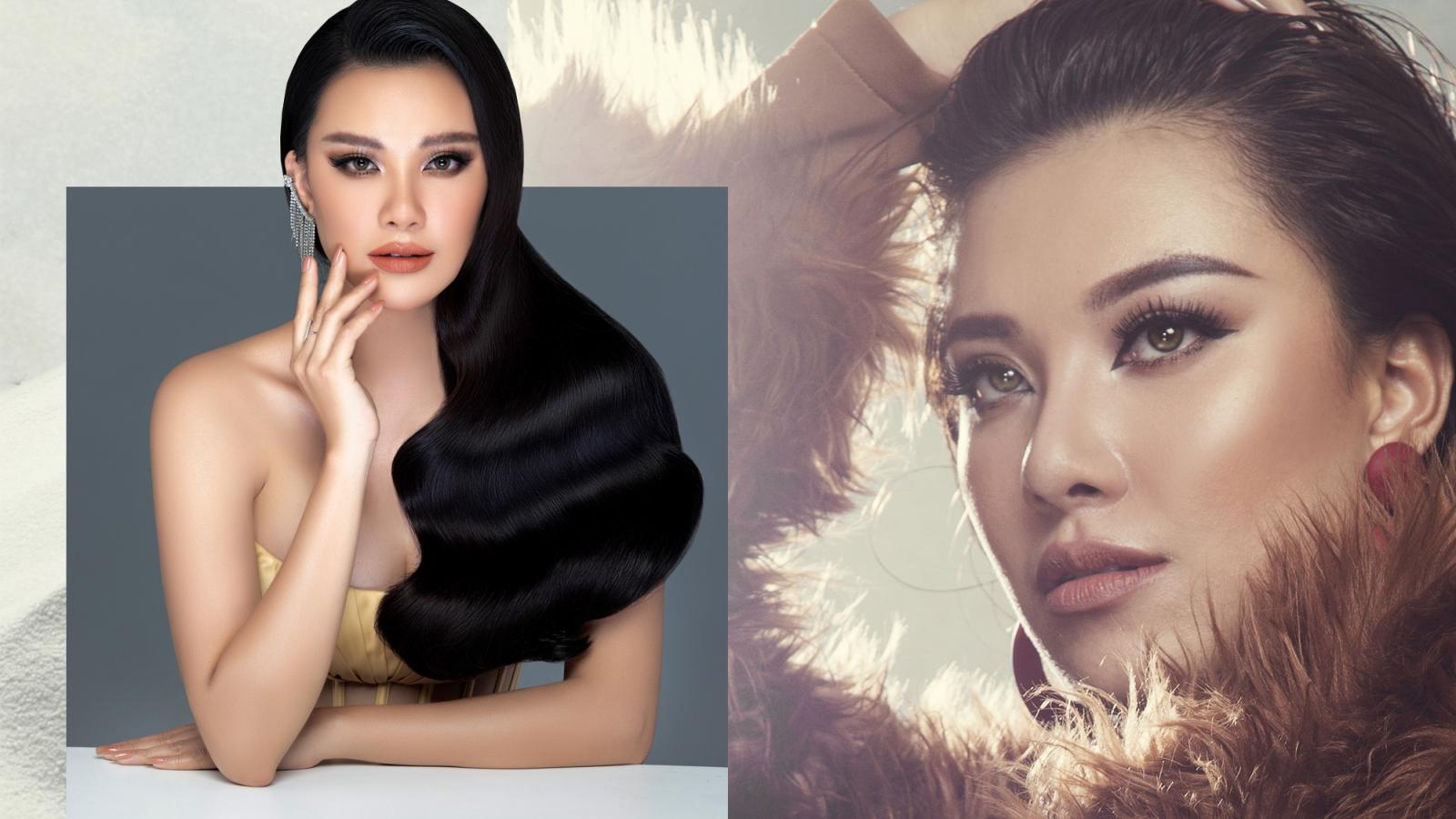 """Á hậu Kim Duyên thi Miss Universe 2021: """"Tôi học hỏi được nhiều kinh nghiệm từ Khánh Vân"""""""