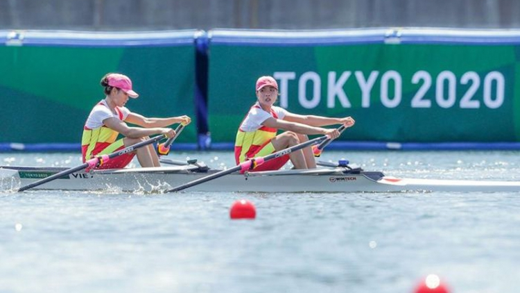 Vietnamese rowers fail in Tokyo, but at their best at Olympics