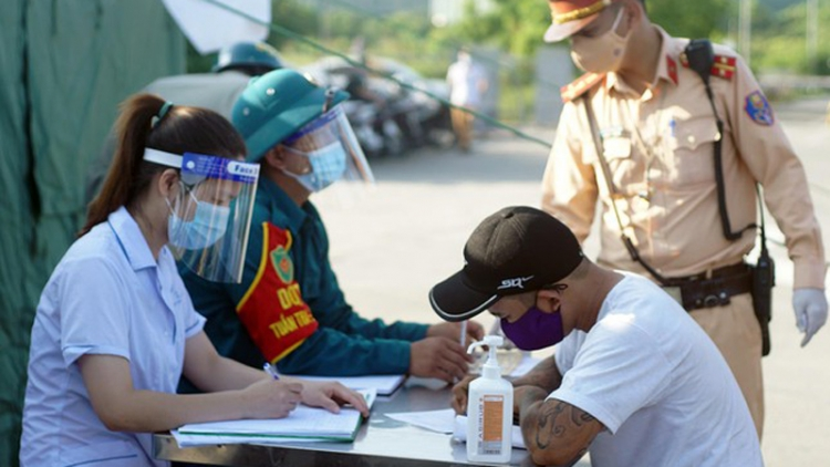 Hanoi erects 22 checkpoints at city entrances to control COVID-19