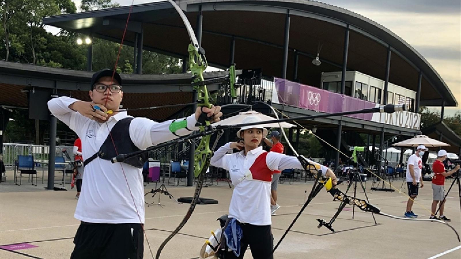 Vietnamese mixed archery team fail to progress at Tokyo Olympics