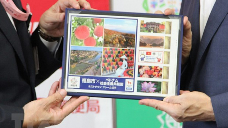 Japan unveils Vietnamese stamps ahead of Olympics opening ceremony