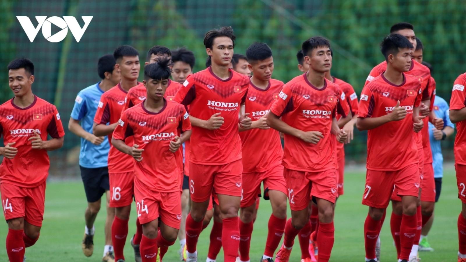 National U23 side to train hard ahead of Asian qualifiers