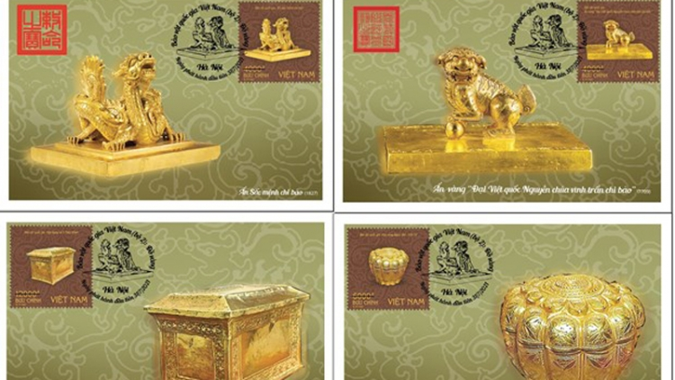 Newly issued stamps to feature several national treasures