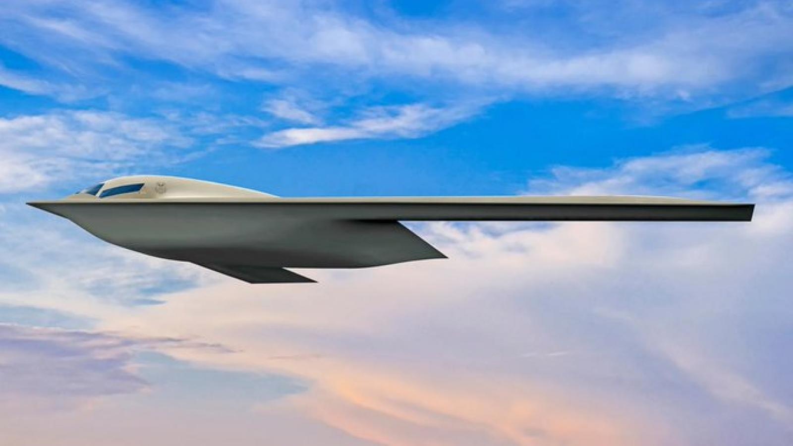 Mỹ công bố hình ảnh mới nhất về máy bay ném bom tàng hình B-21