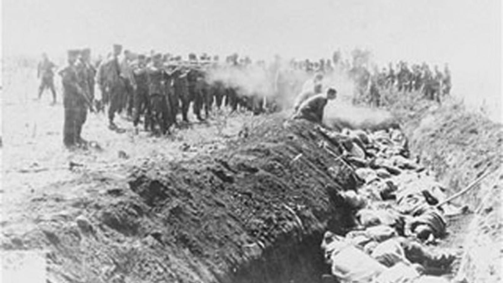 Những vụ thảm sát kinh hoàng của Đức Quốc xã trên đất Liên Xô