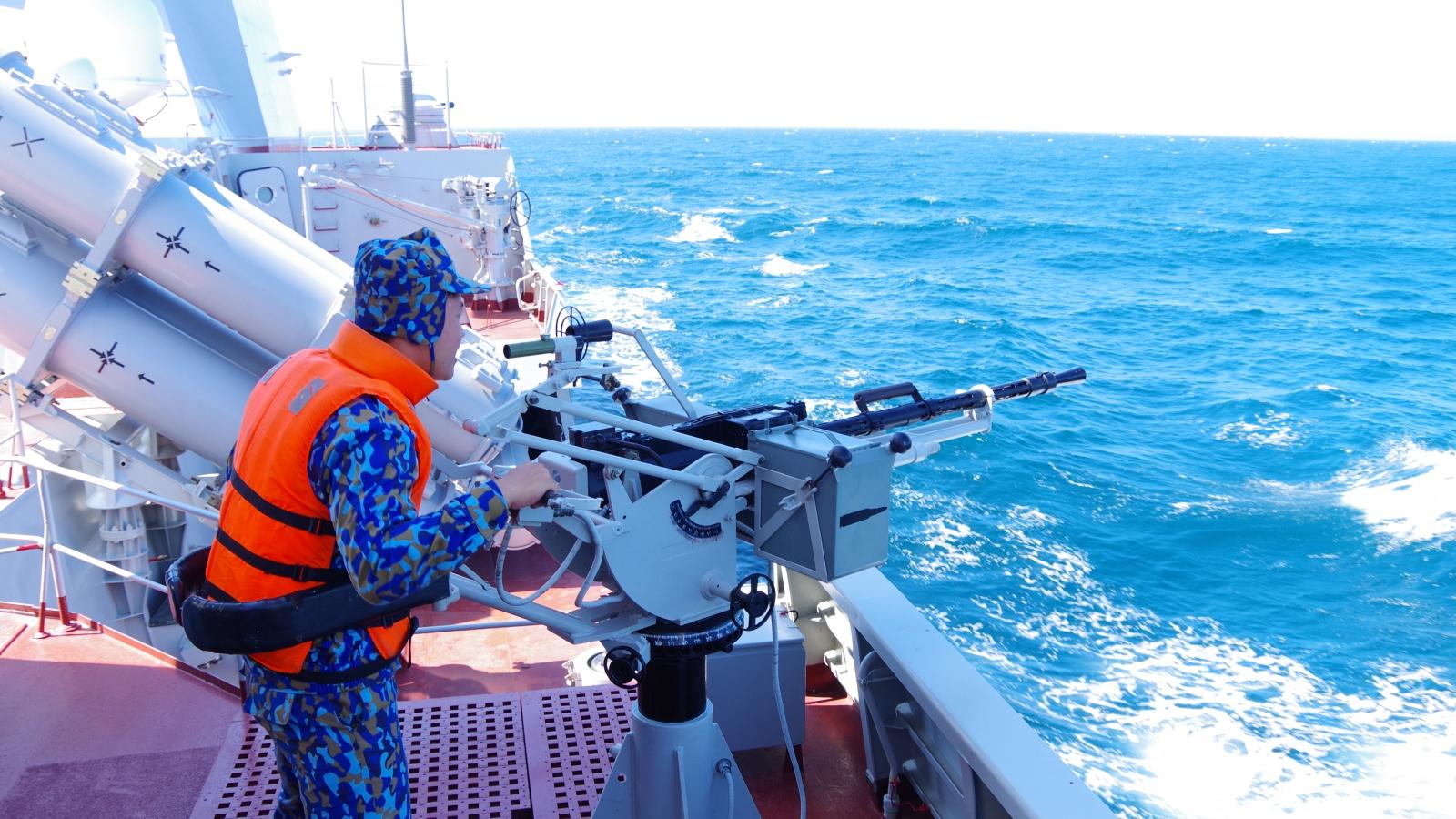 Hai chiến hạm của Hải quân Việt Nam lần đầu tiên thi đấu Army Games 2021