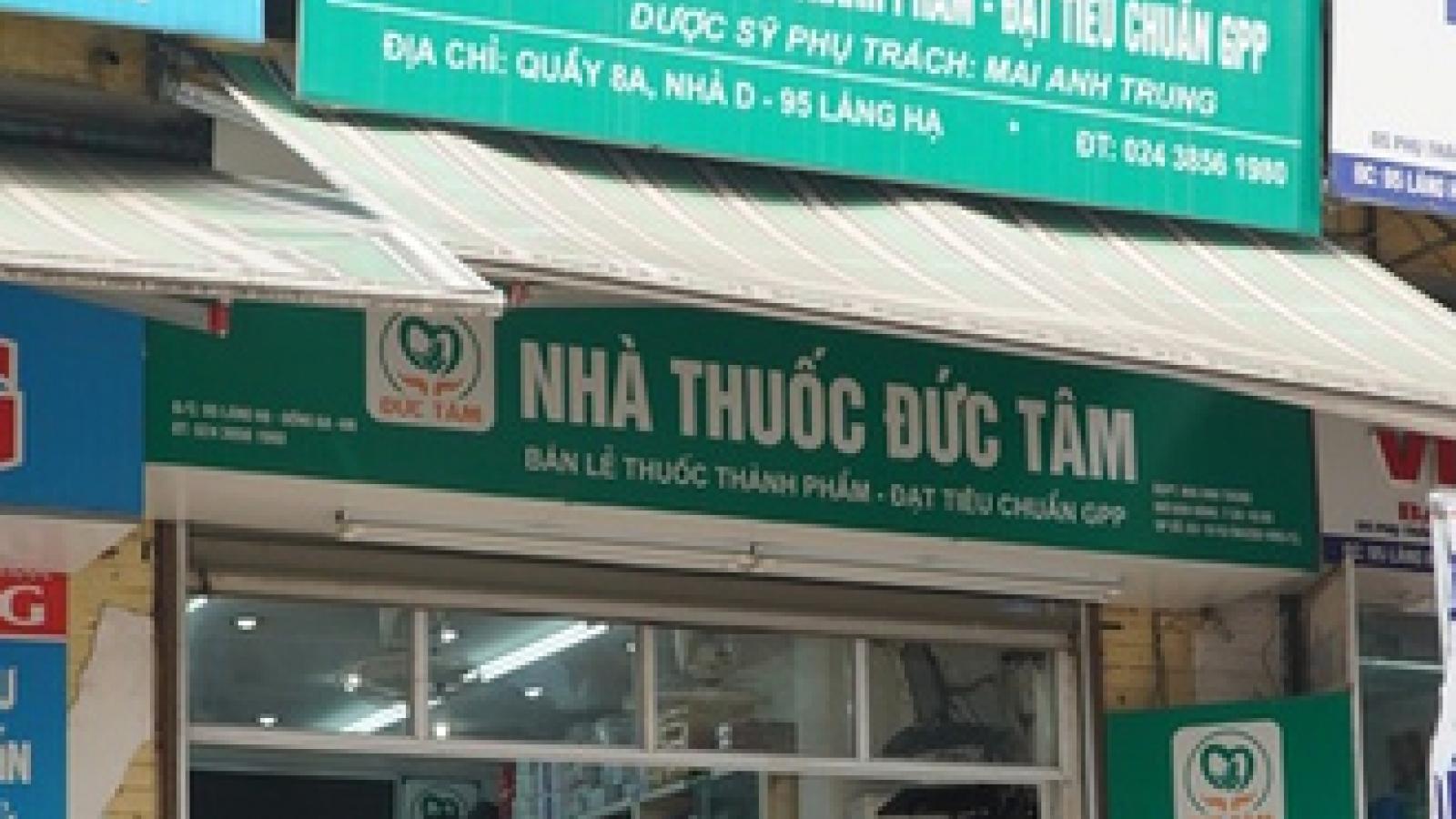 Trưa 22/7, Hà Nội có thêm 34 F0, đình chỉ hoạt động nhà thuốc Đức Tâm