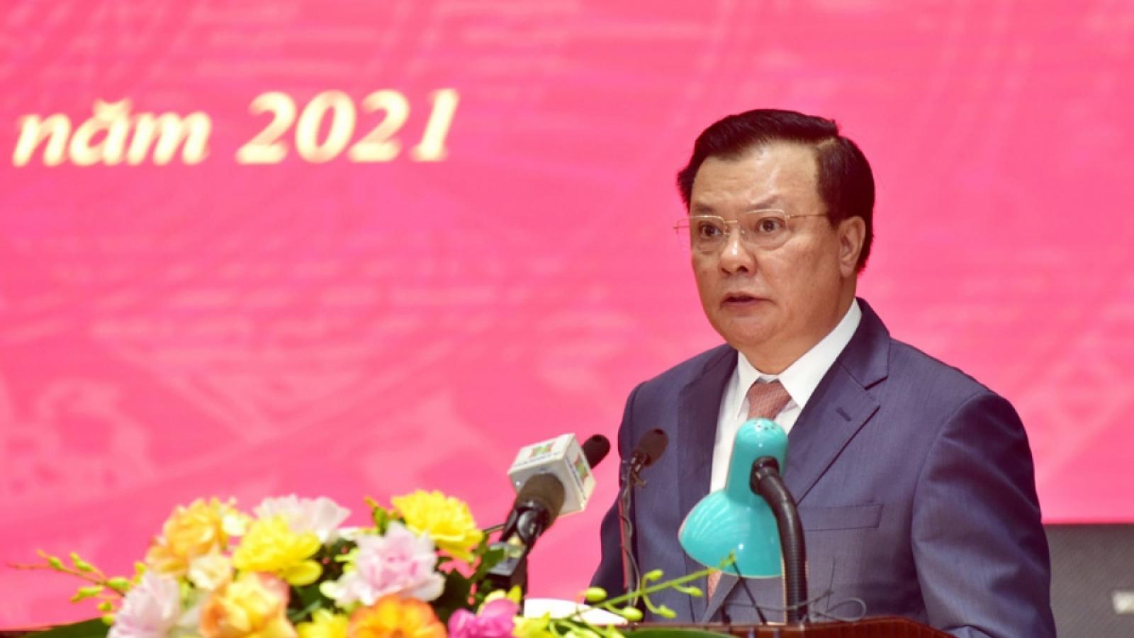 Bí thư Thành ủy Hà Nội: Yêu cầu nâng mức nguy cơ trong các kịch bản phòng, chống dịch