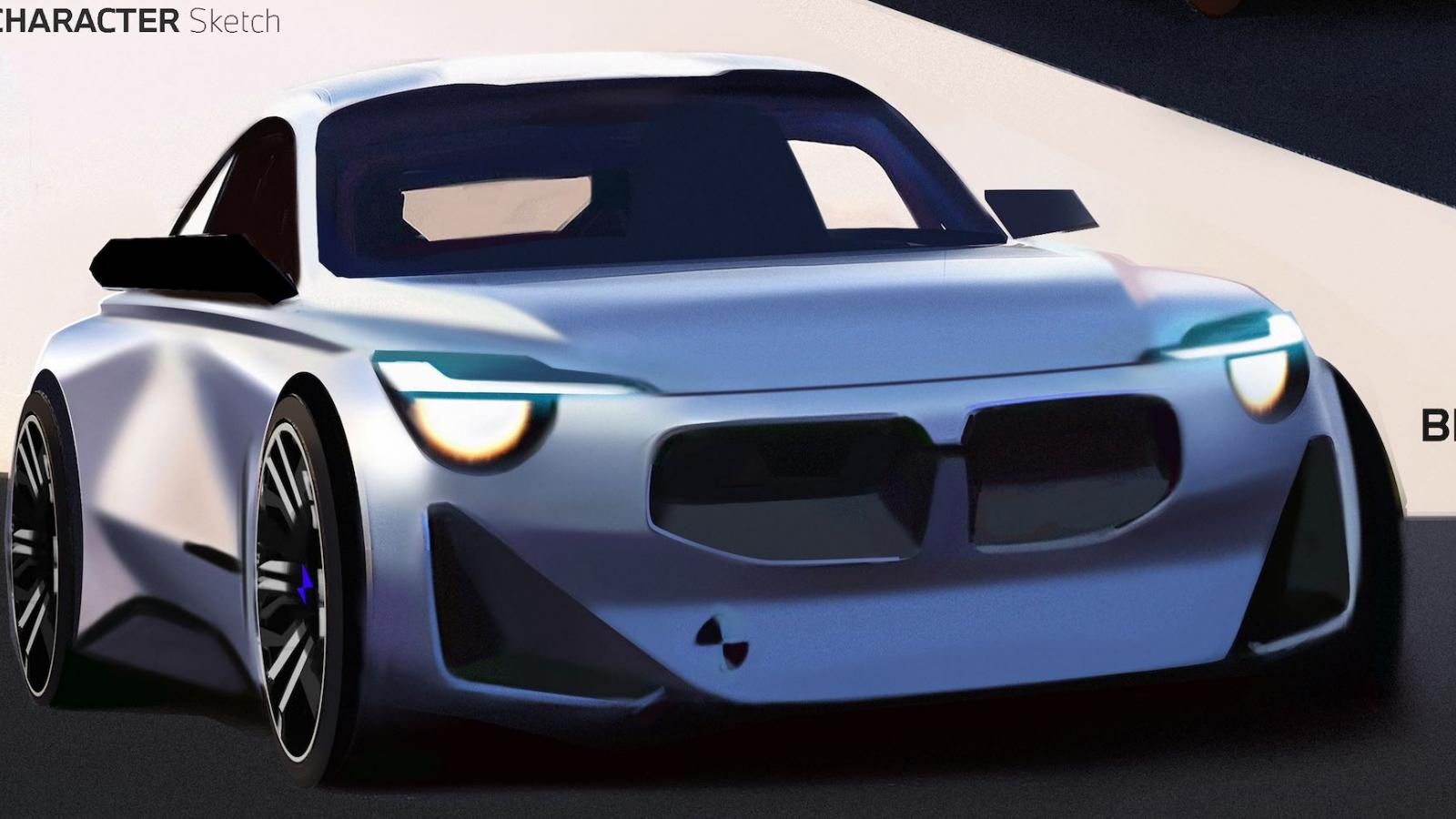 BMW Z4 Coupe thế hệ mới lộ ảnh phác thảo