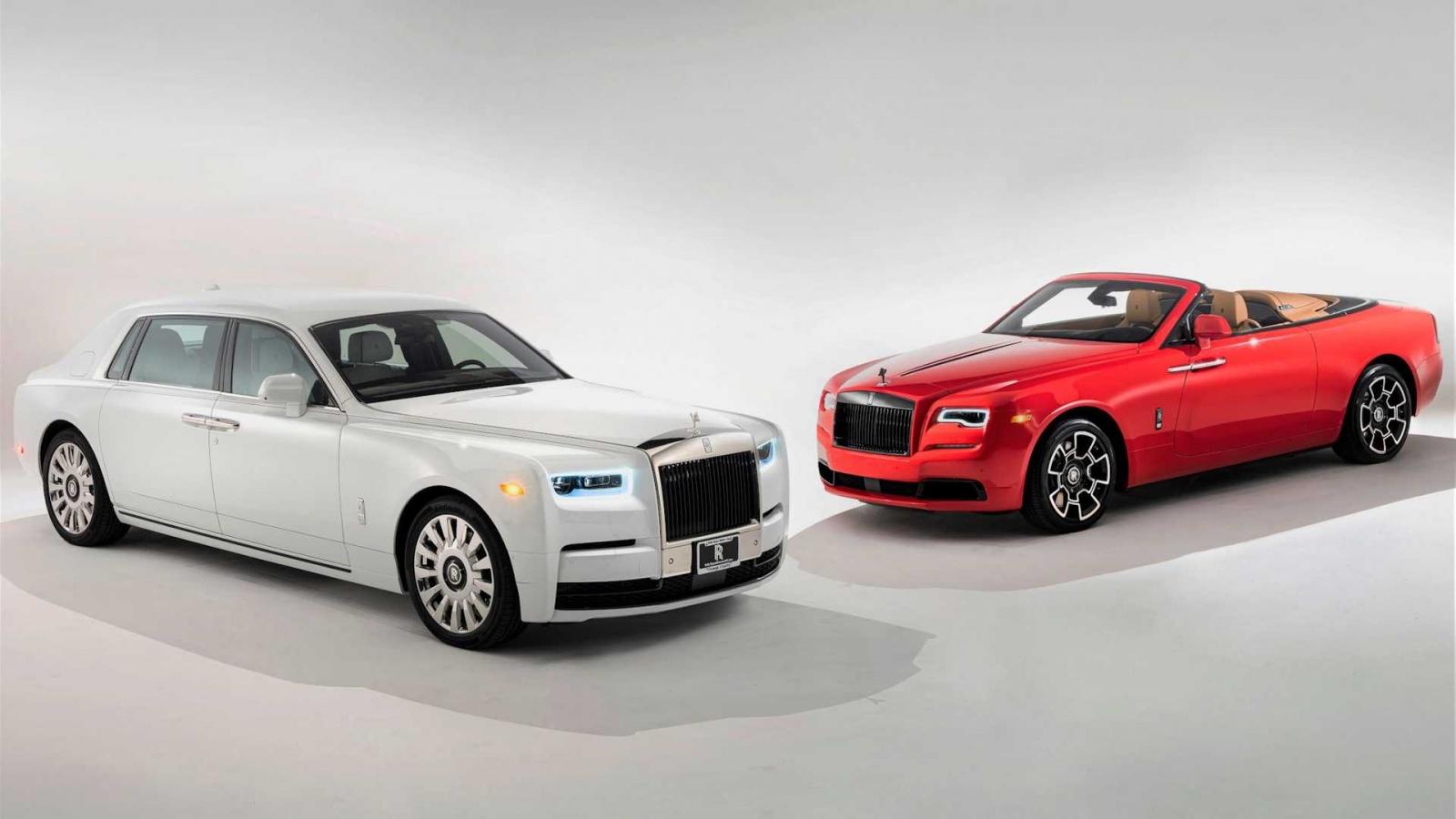 Một trong 20 chiếc Rolls-Royce Phantom Tempus đến tay khách hàng