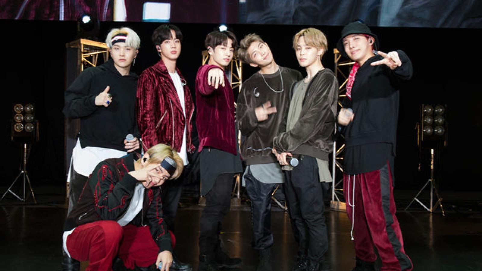 """MV """"MIC Drop"""" của BTS vượt mốc 1 tỷ lượt xem trên Youtube"""