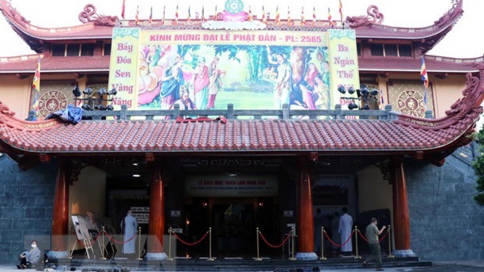 HCM City's Buddhist Sangha proposes using pagodas as COVID-19 treatment hospitals