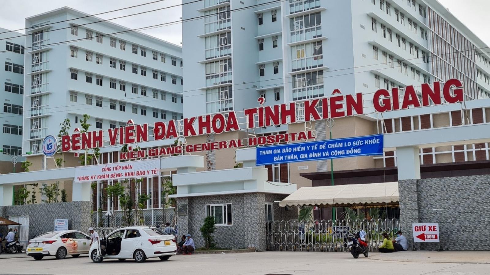 Dỡ bỏ lệnh phong toả Bệnh viên đa khoa tỉnh Kiên Giang