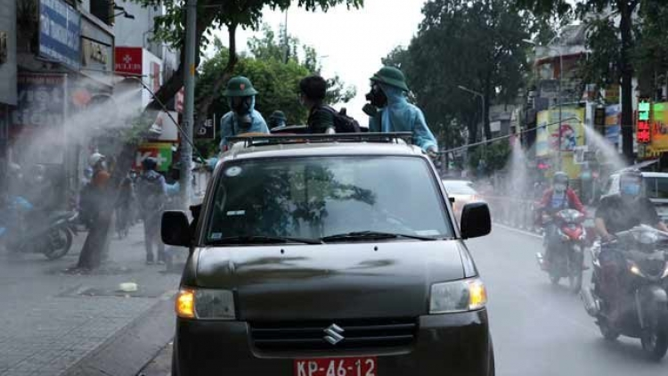 Entire HCM City to be disinfected in next seven days