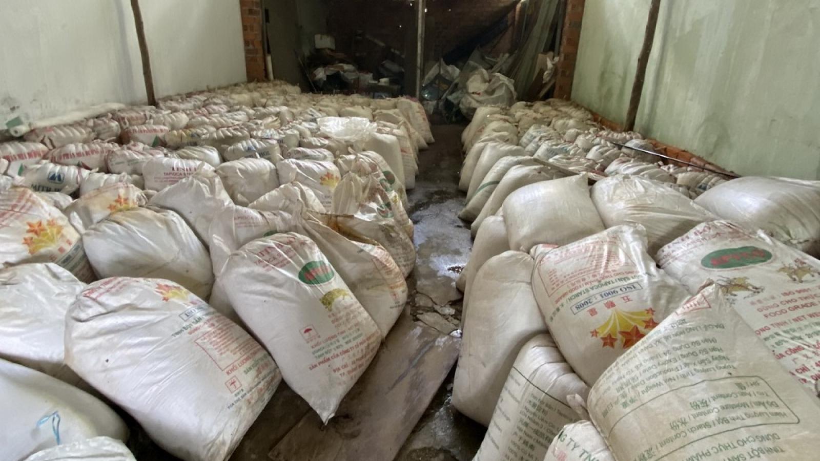 Phát hiện kho chứa 15 tấn ớt không hóa đơn chứng từ ở Đà Nẵng