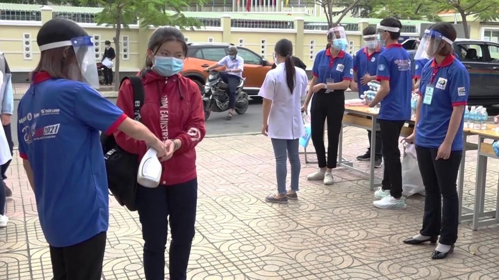Khánh Hòa: Hơn 400 thí sinh phải tạm dừng thi tốt nghiệp THPT đợt 1