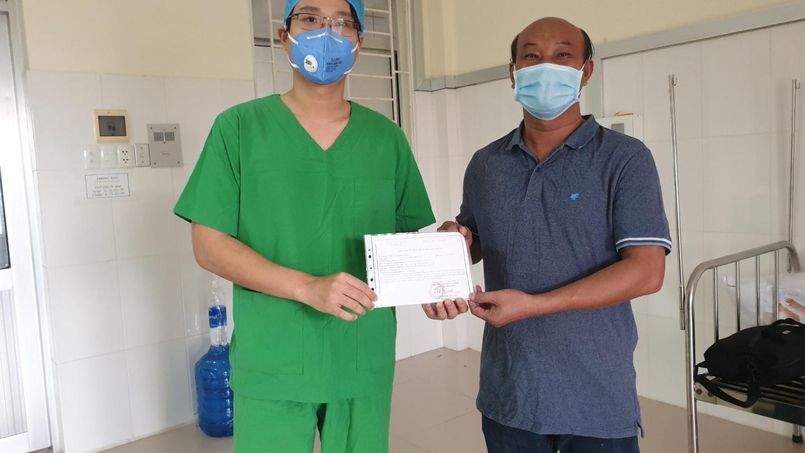 39 ca mắcCovid-19 trong cộng đồng tại Vĩnh Long đã được điều trị khỏi bệnh