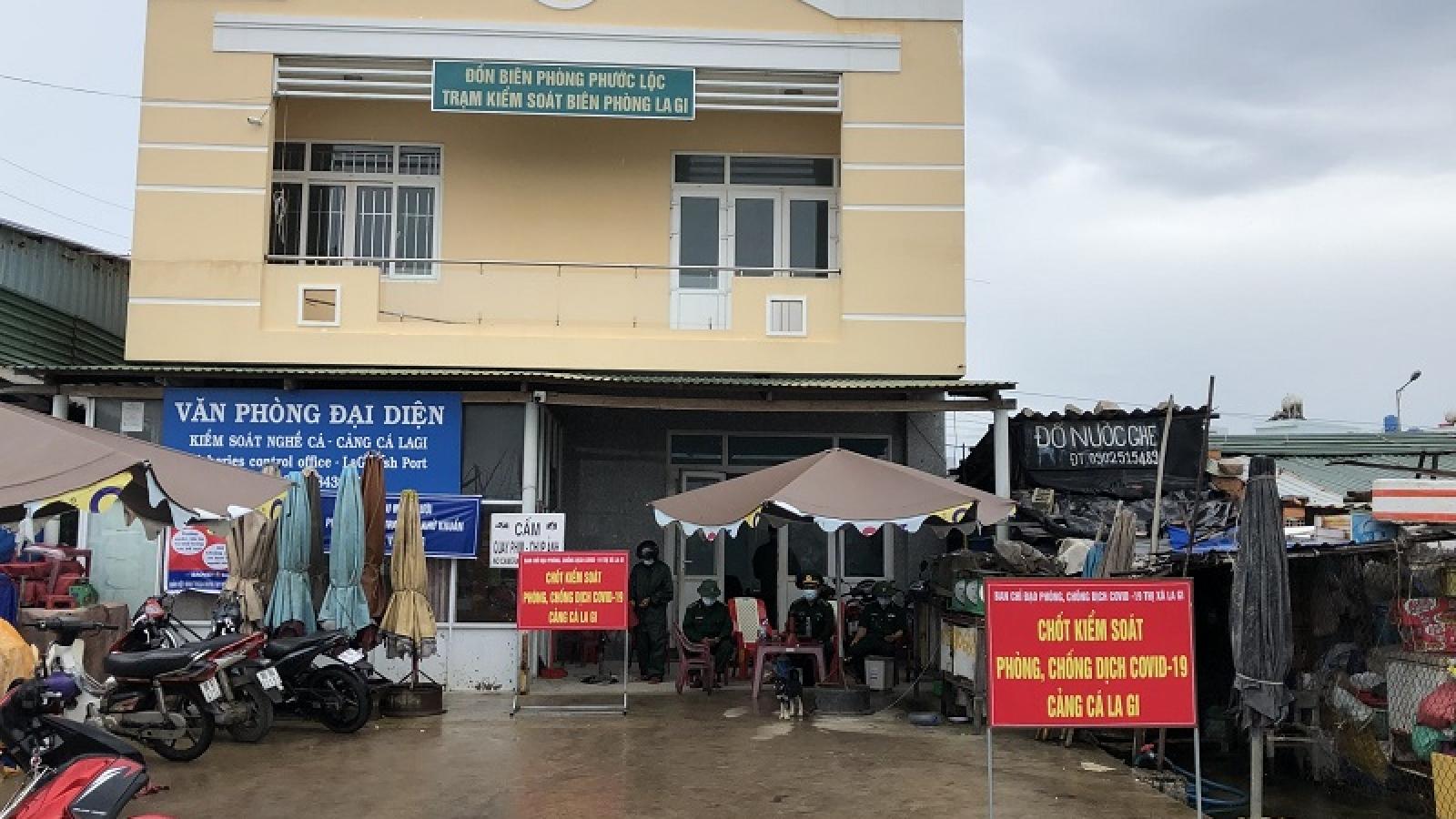 Bình Thuận tạm dừng hoạt động Cảng cá La Gi