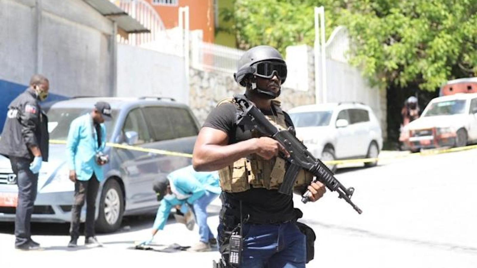 Cảnh sát Haiti bắt 15 người Colombia, 2 người Mỹ sau vụ ám sát Tổng thống Moise