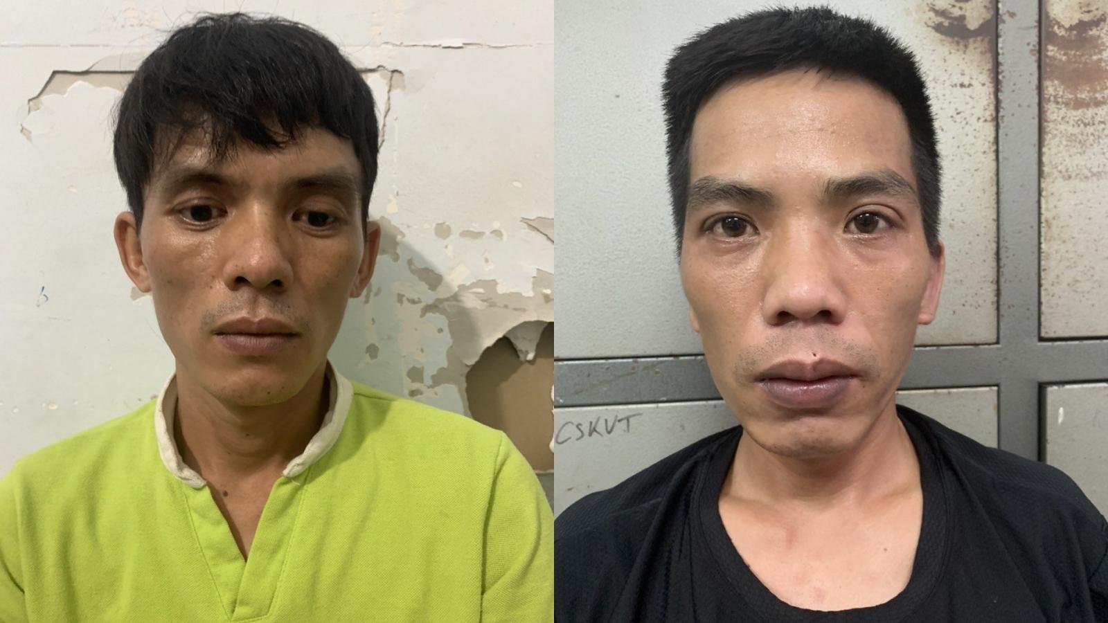 Hai đối tượng cướp giật túi xách của phụ nữ ở Hà Nội