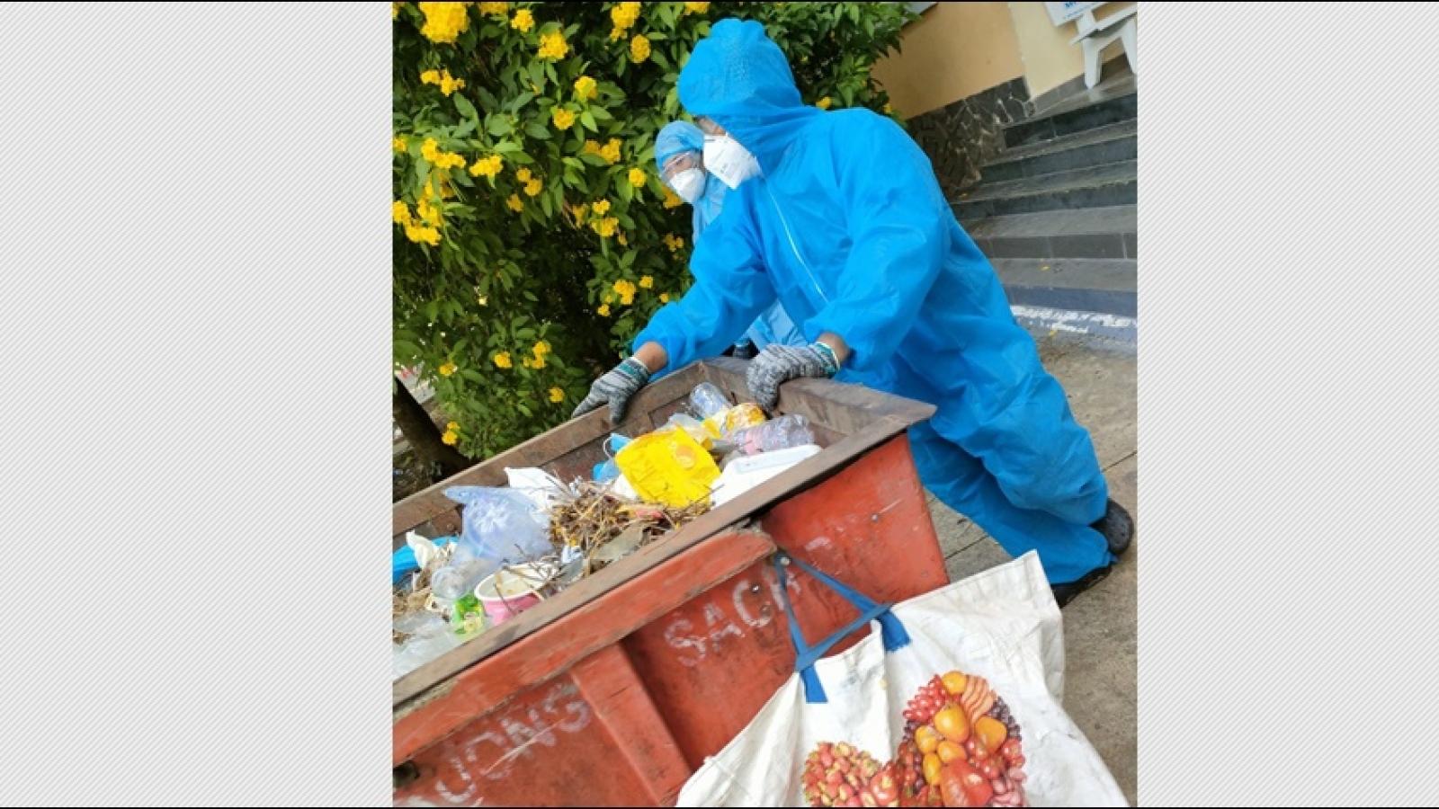 TP.HCM: Sẵn sàng kịch bản 100 tấn rác/ngàyở khu cách ly, bệnh viện điều trị Covid-19