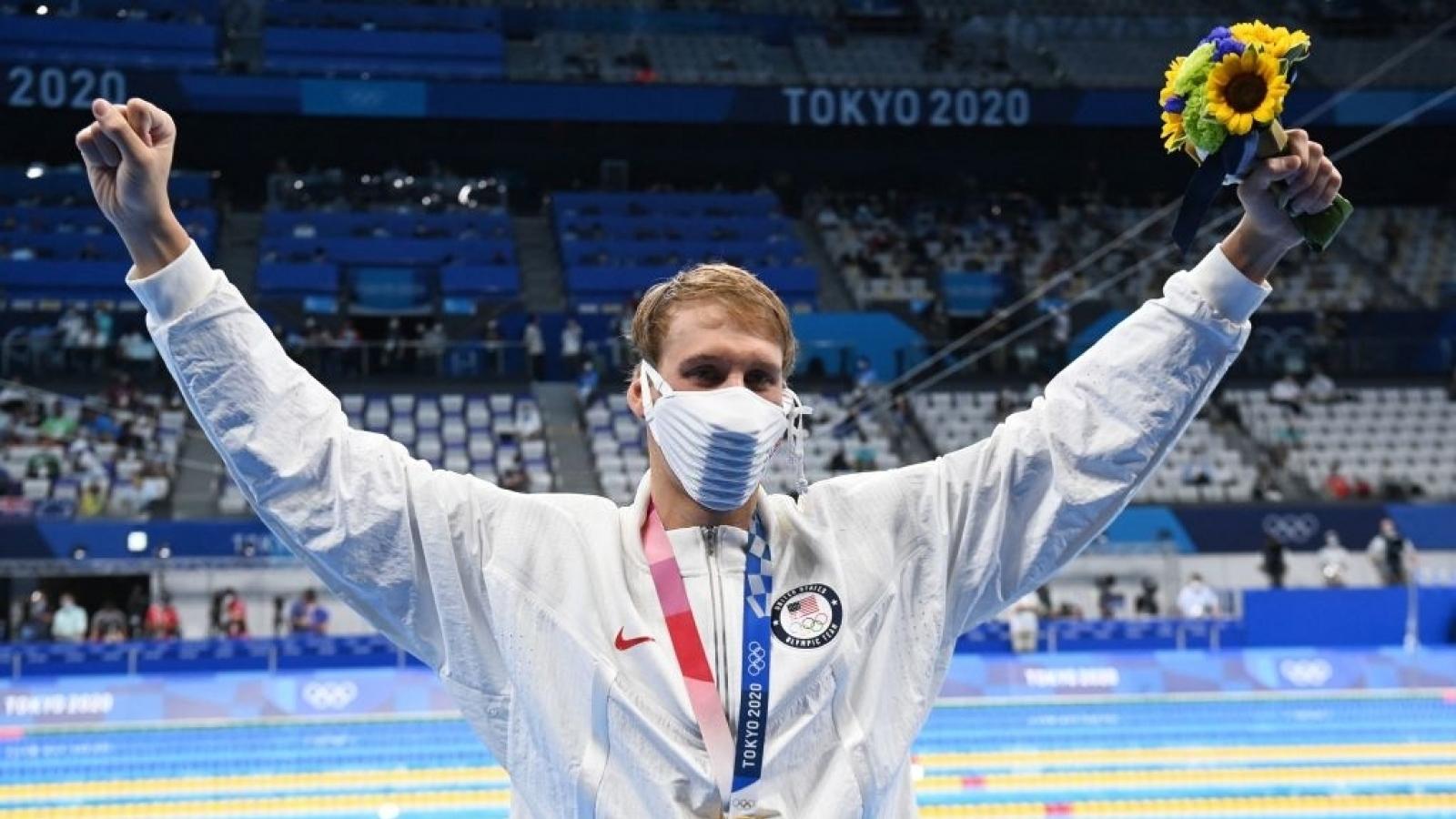 Đoàn thể thao Mỹ có HCV đầu tiên ở Olympic Tokyo 2020
