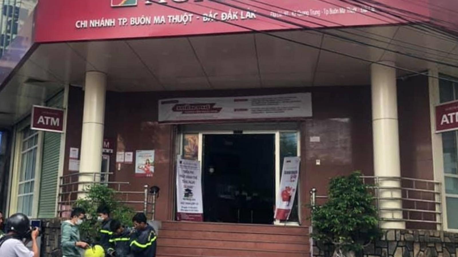 Đắk Lắkkịp thời dập tắt vụ cháy tại trụ sở ngân hàng