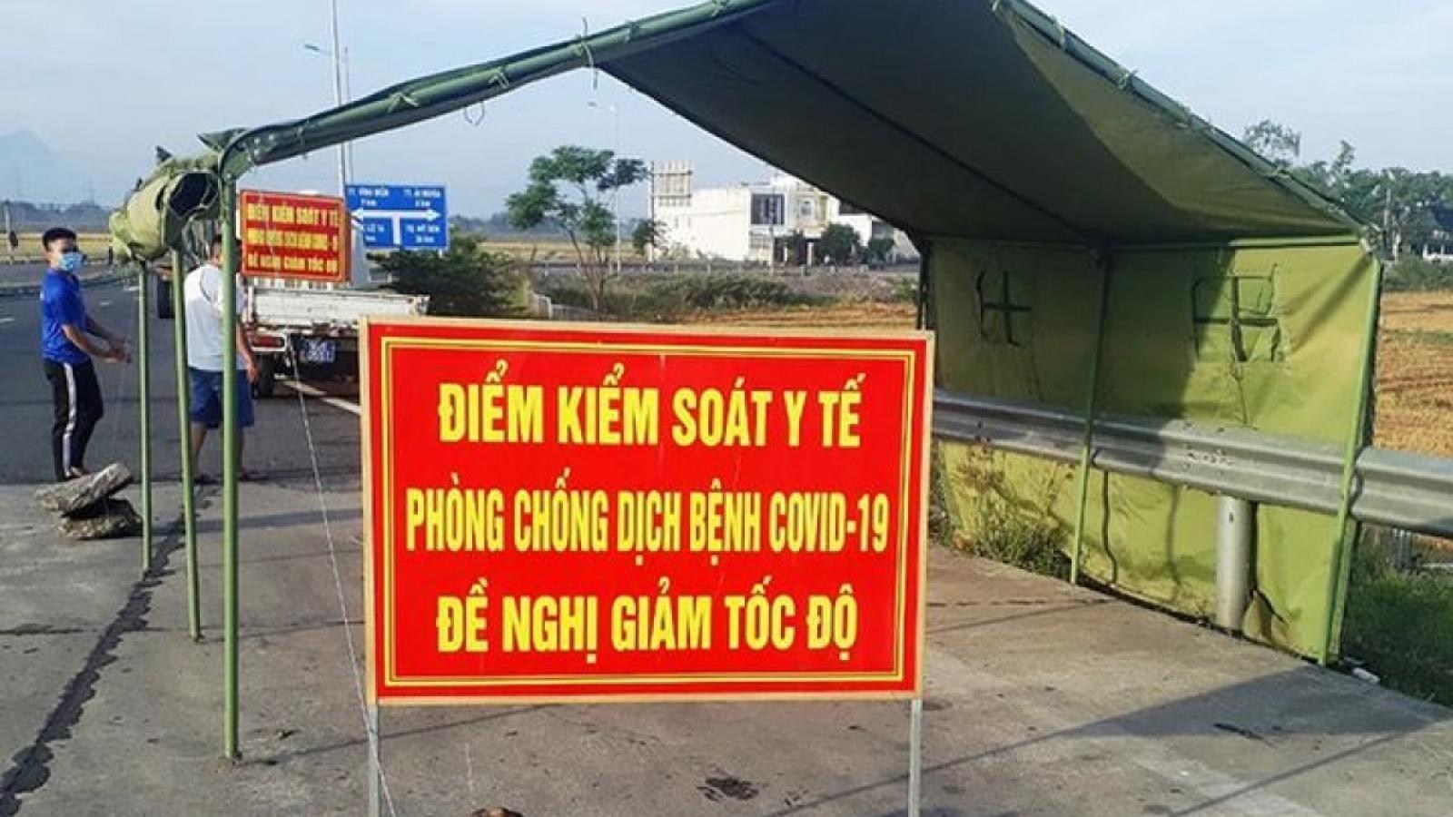 Người từ Hà Nội về Hưng Yên phải có giấy xét nghiệm âm tính với SARS-CoV-2