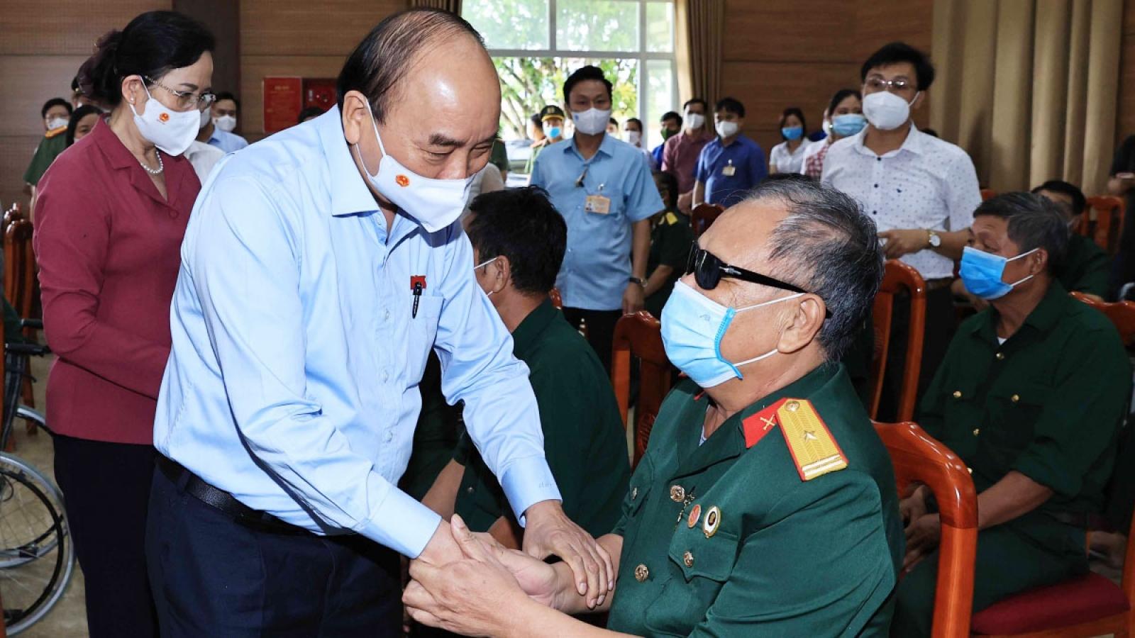 Chủ tịch nước gửi thư tới các thương bệnh binh, gia đình liệt sĩ, người có công