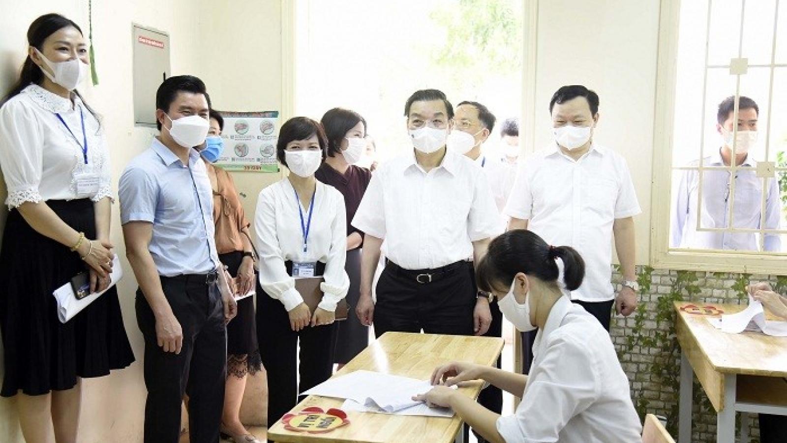 Thi tốt nghiệp THPT 2021 tại Hà Nội: Mục tiêu an toàn và nghiêm túc được đặt lên trên hết
