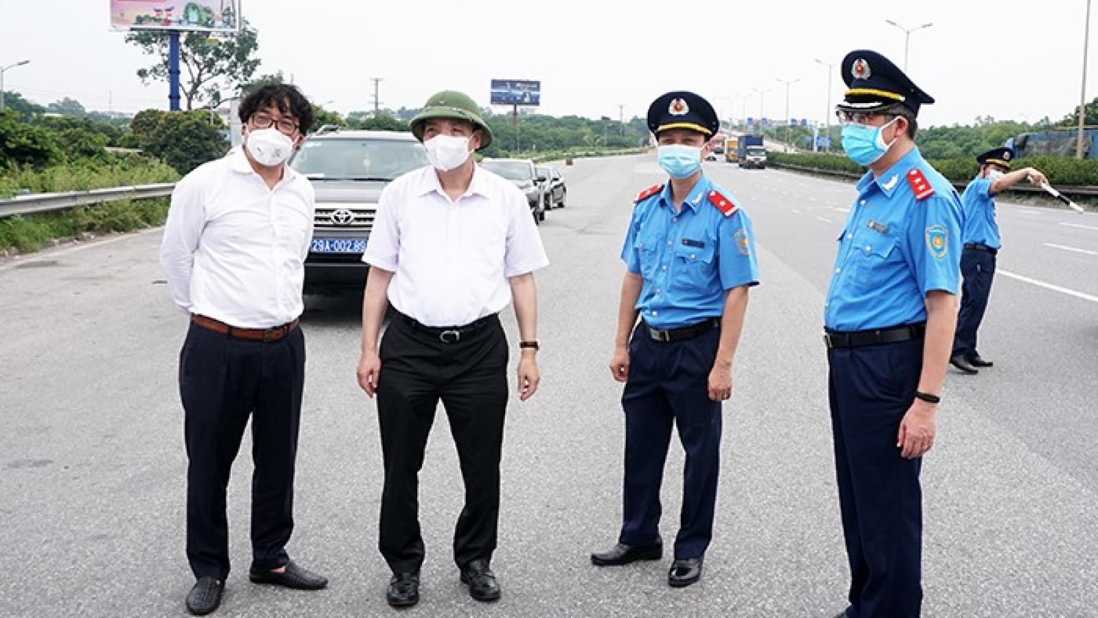 Chủ tịch Hà Nội thị sát đường Vành đai 3, chỉ đạo phương án thông xe nhanh nhất