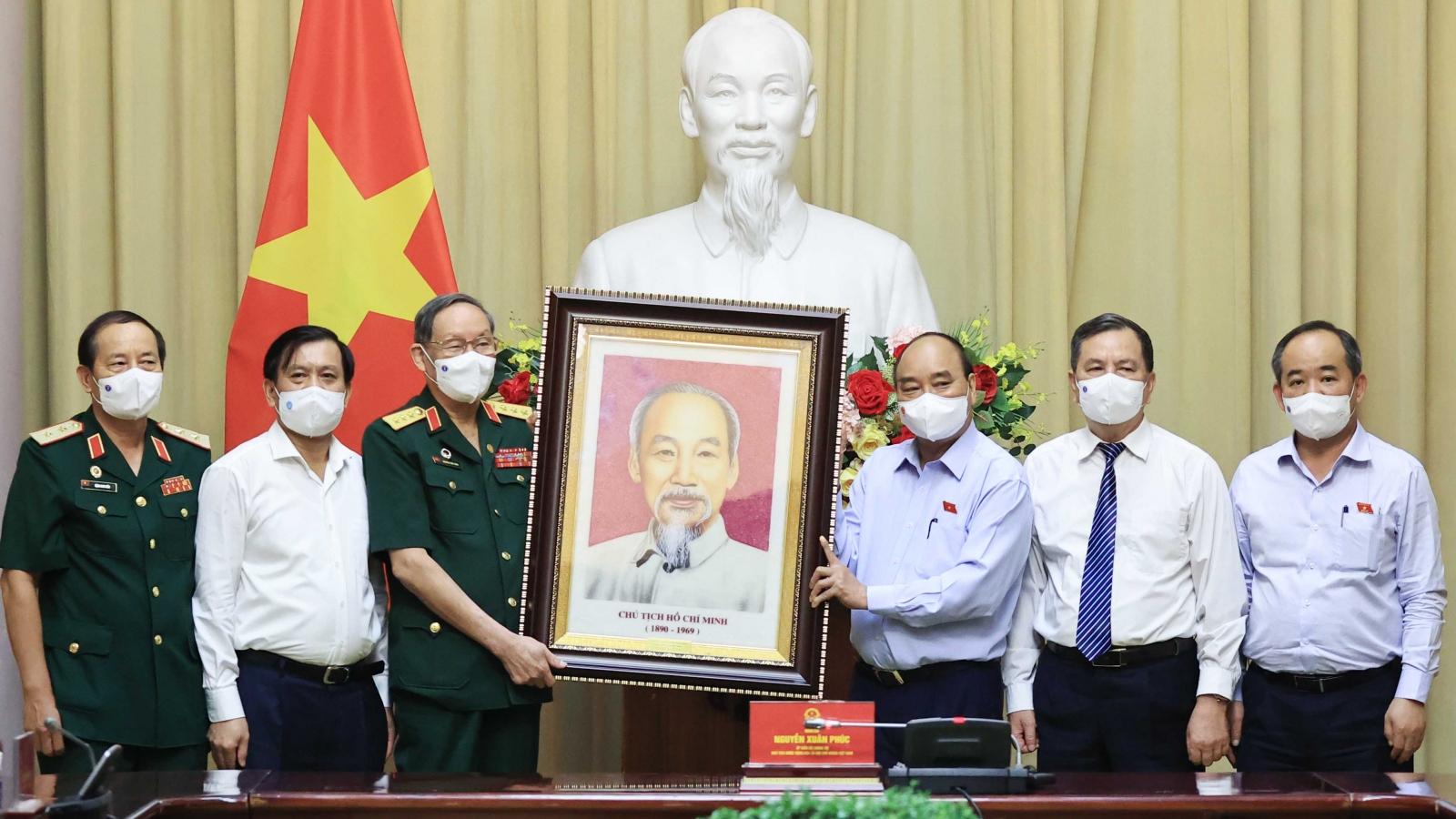 Chủ tịch nước làm việc với Hội Nạn nhân chất độc da cam Việt Nam