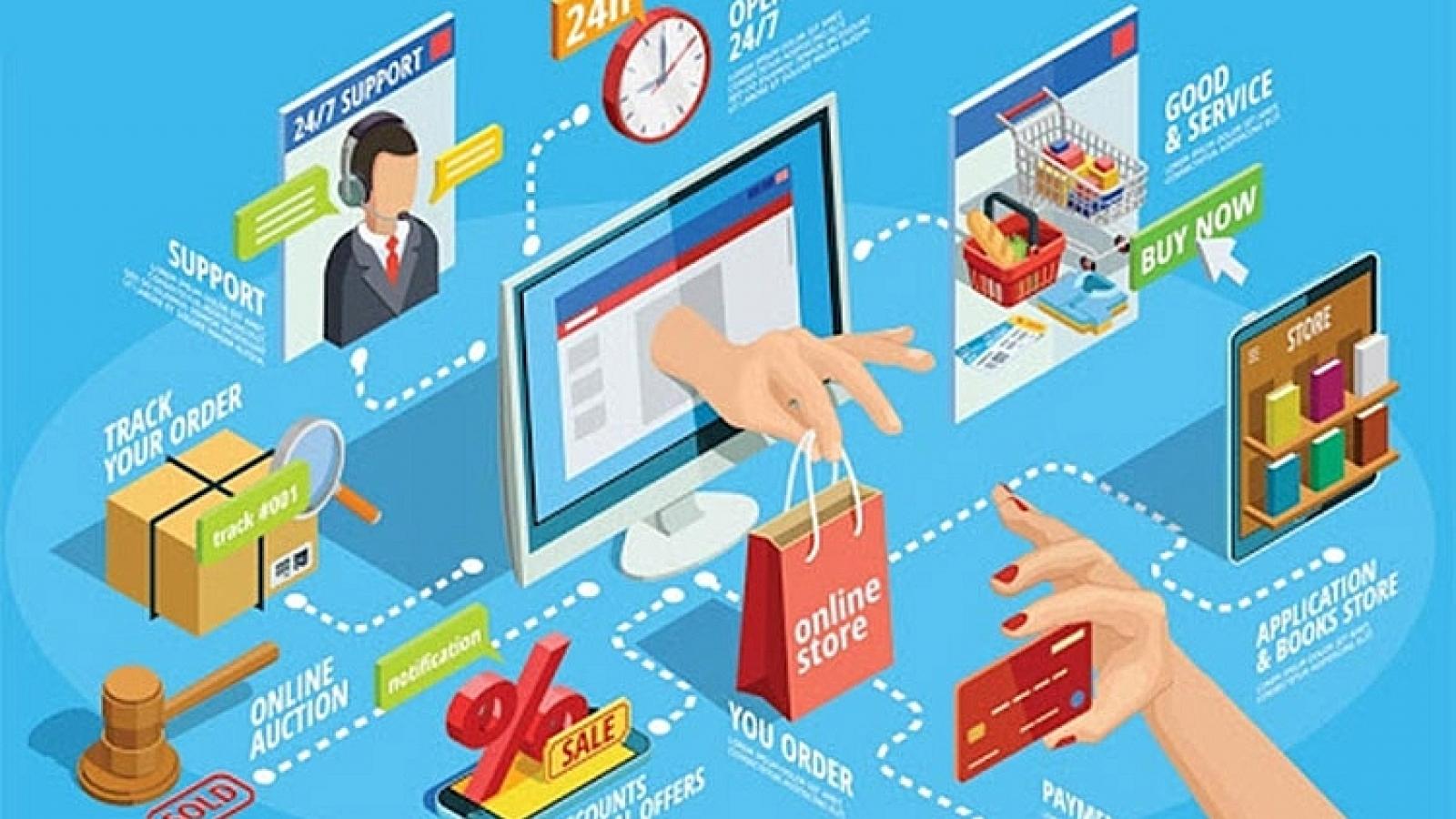 """Siết chặt hay mở lối cho thương mại điện tử: Cân nhắc """"cửa"""" cho doanh nghiệp nội"""