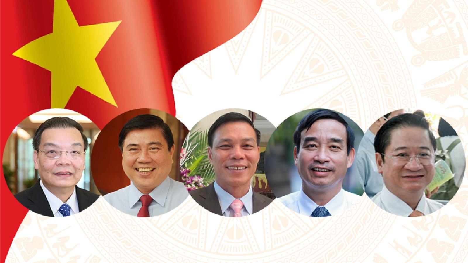 Danh sách 62 Chủ tịch UBND tỉnh, thành phố nhiệm kỳ 2021 - 2026