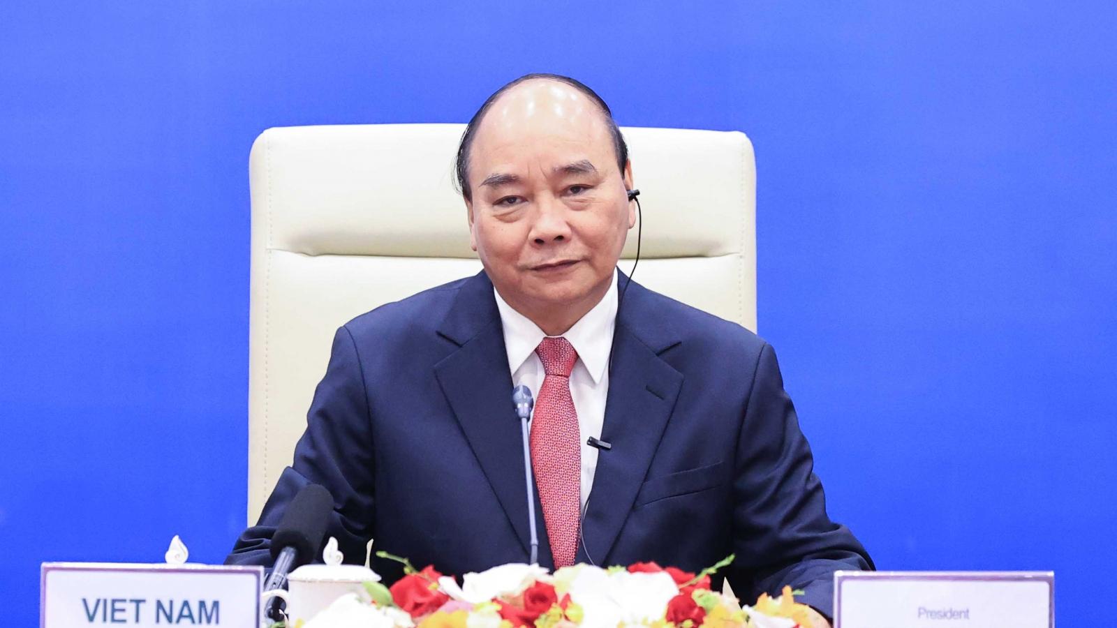Chủ tịch nước Nguyễn Xuân Phúc nêu 3 đề xuất quan trọng cho hợp tác APEC