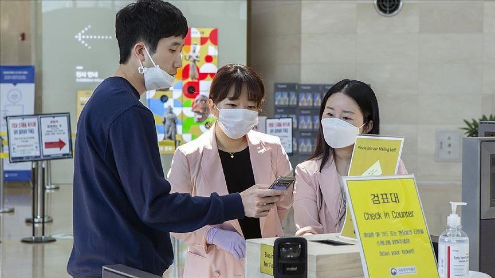 Số ca mắc Covid-19 tại Hàn Quốc tăng đột biến, cao thứ hai kể từ đầu dịch