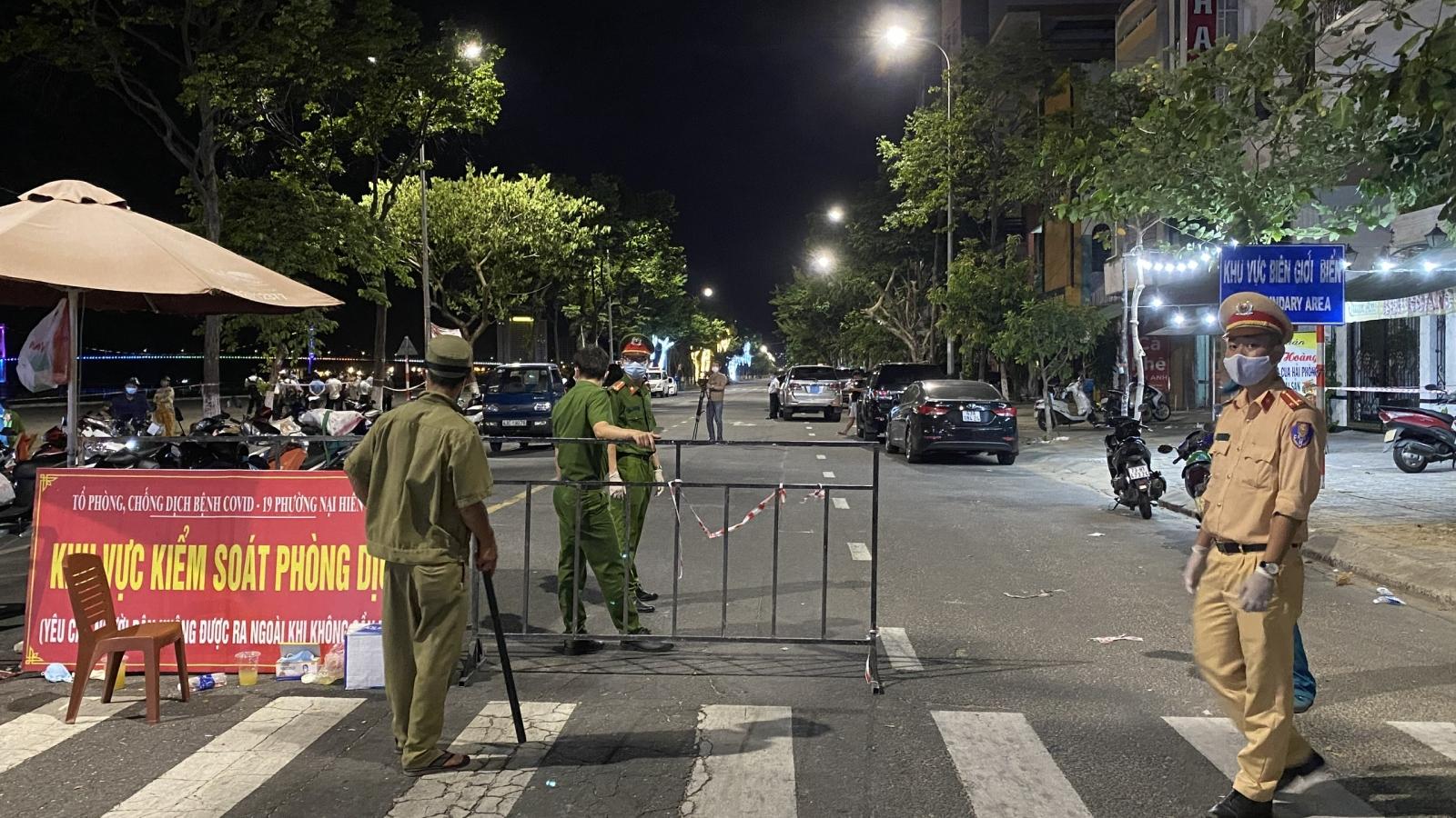 Phong tỏa 4 phường ở Đà Nẵng do xuất hiện nhiều ca mắc Covid-19