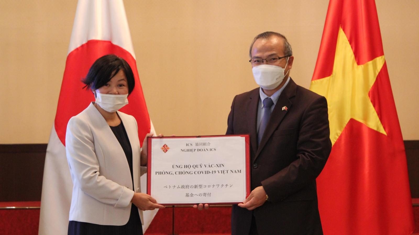 Nhật Bản ủng hộ Quỹ vaccine phòng chống Covid-19 của Việt Nam