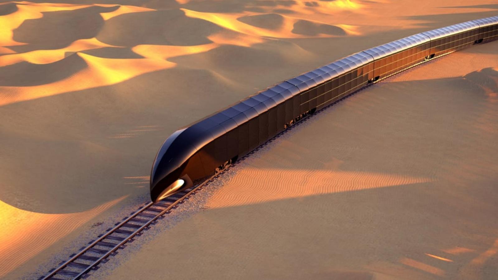 """Trải nghiệm xa xỉ trên đoàn tàu mệnh danh """"cung điện trên đường ray"""""""