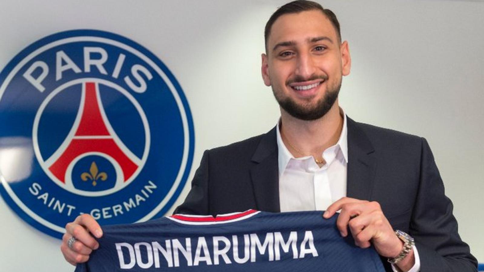 Cầu thủ xuất sắc nhất EURO 2021, Donnarumma chính thức gia nhập PSG