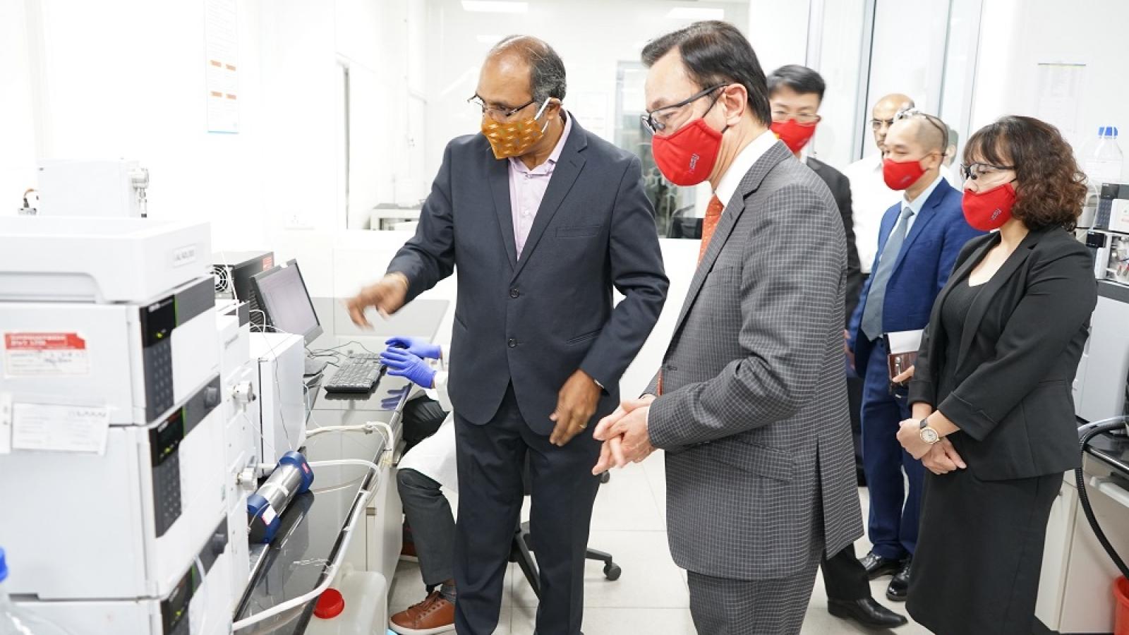 Doanh nghiệp Ấn Độ quan tâm việc mở 'Công viên Dược phẩm' tại Việt Nam