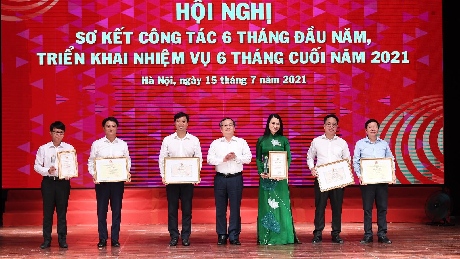 VOV tổ chức Hội nghị sơ kết 6 tháng đầu năm 2021