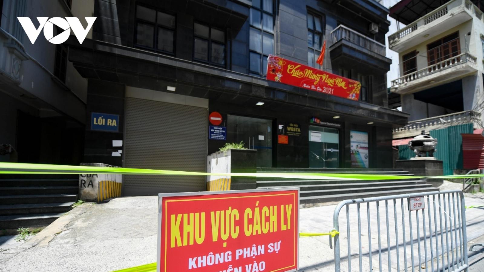 Hà Nội có thêm 13 ca dương tính với SARS-CoV-2, 6 người là F1 của nhân viên Vietinbank
