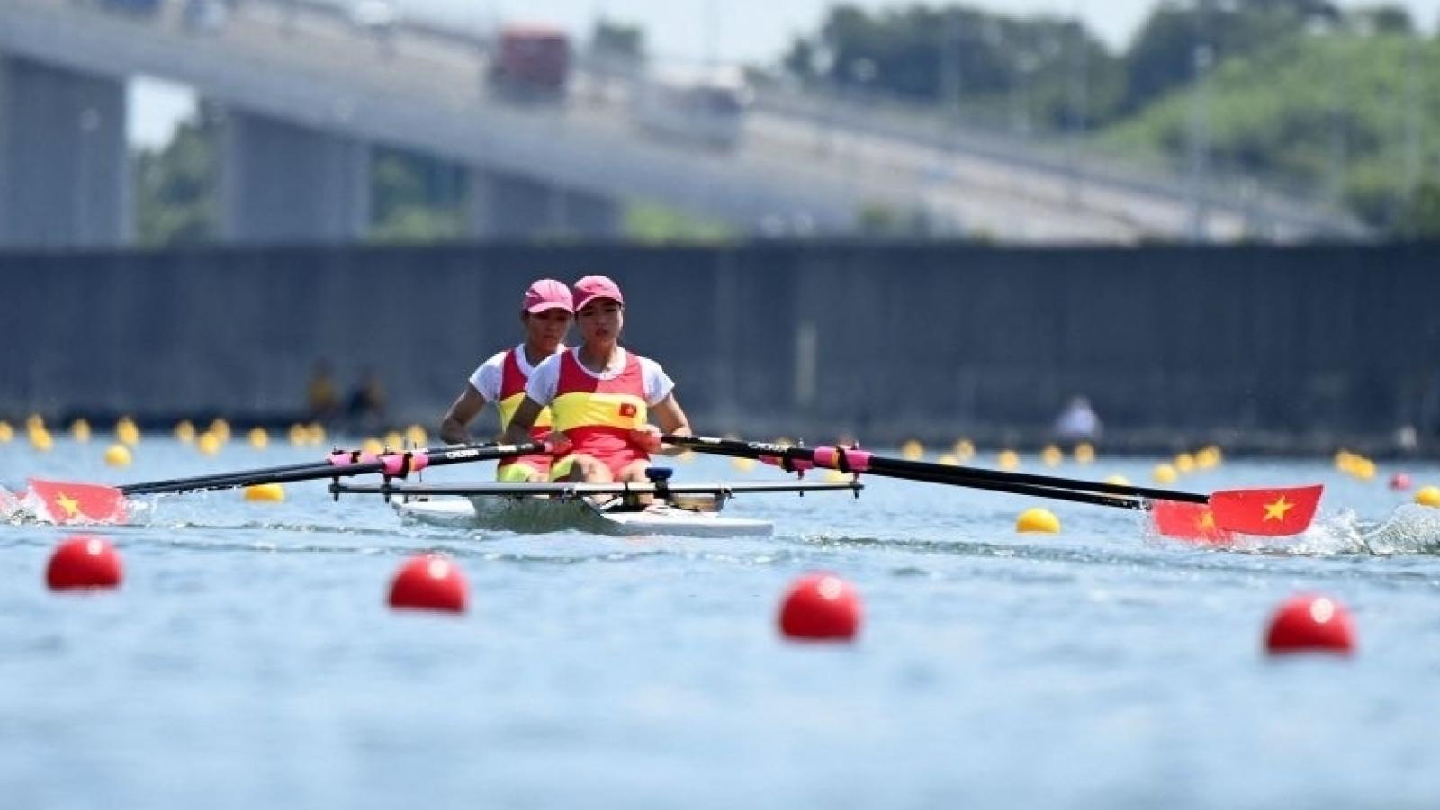 Đua thuyền Việt Nam tuột vé vào bán kết Olympic Tokyo 2020